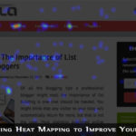 Crazy Egg Techlila Homepage Heatmap