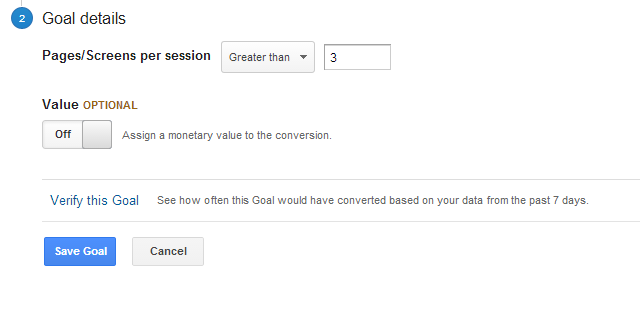 Goal Pages Per Session Step2