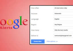 Google Alerts: How to use Google Alerts in Blogging