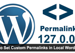 How to Set Custom Permalinks Local Wordpress