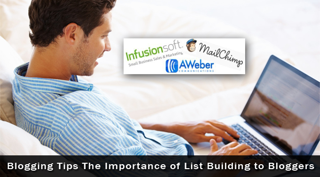 Importance of List Building to Bloggers