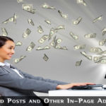 Sponsored Posts And Other In Page Advertising