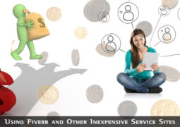 Using Fiverr and Other Inexpensive Service Sites