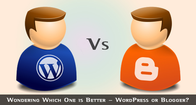 Image result for which is better wordpress or blogger