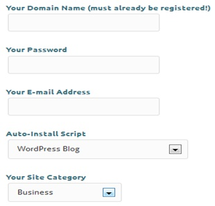 Xtreemhost Signup Form