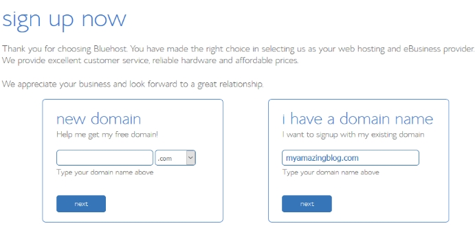 Bluehost Add Domain Name