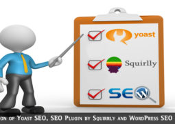 Comparison of Yoast SEO, SEO Plugin by Squirrly and WordPress SEO Ultimate