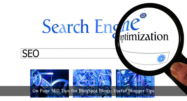 SEO Tips for Blogspot