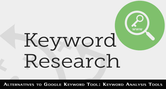 Alternatives to Google Keyword Tool