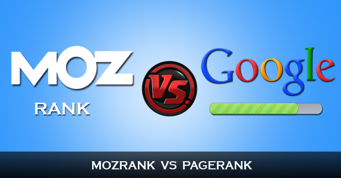 MozRank Vs Google PageRank