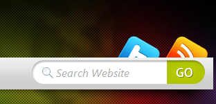 Search in Mystique Navigation Bar